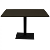Wenge Complete Step Rectangle Table