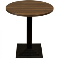 Walnut Complete Step Small Round Table