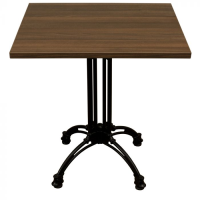 Walnut Complete Continental Square Table