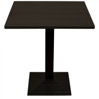 Wenge Complete Step Square Table
