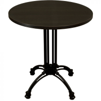 Wenge Complete Continental Round Table