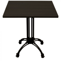 Wenge Complete Continental Square Table