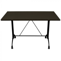 Wenge Complete Continental Rectangle Table