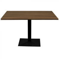 Walnut Complete Step Rectangle Table
