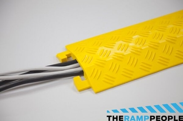 20mm Yellow High Cable Cover