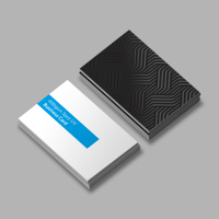 Double Sided Printed Business Cards In Beechwood