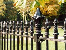 UK Suppliers Of Ornamental Fencing