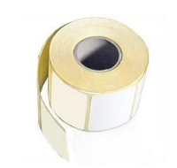 Personalised Promotional Stickers White Sqaure 46x46mm Per Roll 500