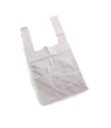 Vest Carrier Bags White Approx 11x19x22 18 micron per 1000