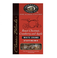 White Crumb Roast Chestnut Cranberry and Apple Stuffing Mix 6x150g
