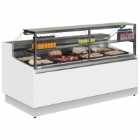 Display Serve Over Chiller Trimco Brabant 150 Flat Glass - Meat 1ph