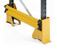 Fixed Single Rail Racking End Frame Protectors With End 'U' Profiles - FULL KIT