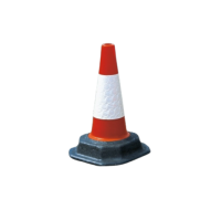 TC2 Two Piece Traffic Cones With Recycled Base