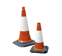 TC1 Two Piece Traffic Cones With Recycled Base