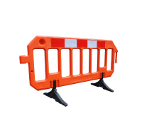 Hi-Visibility HDPE Safety Barriers