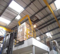 Up and Over Mezzanine Safety Gates