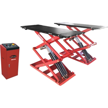 Redback RB3000 Full Rise Ultra Low-Profile Surface Mounted Scissor Lift