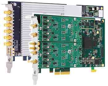 Ultrasonic signal capture and AWG Cards