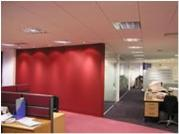 Vinyl Finished Flat Wall Sliding Partitioning Systems