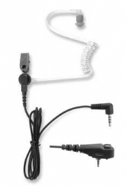 Receive only Acoustic tube Earpiece for the Sepura and the Motorola Radios