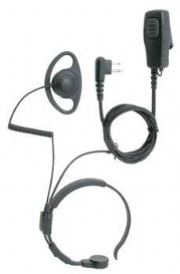 Motorola 2 pin Throat Microphone Earpiece