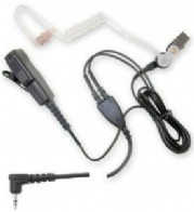 Acoustic tube earpiece for the Maxon Entel 400 series or the Yaesu Radio