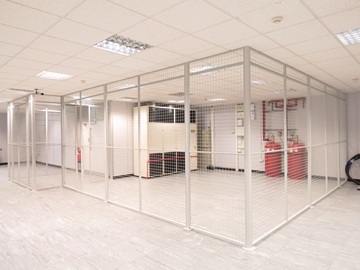 Wire Mesh Partitions