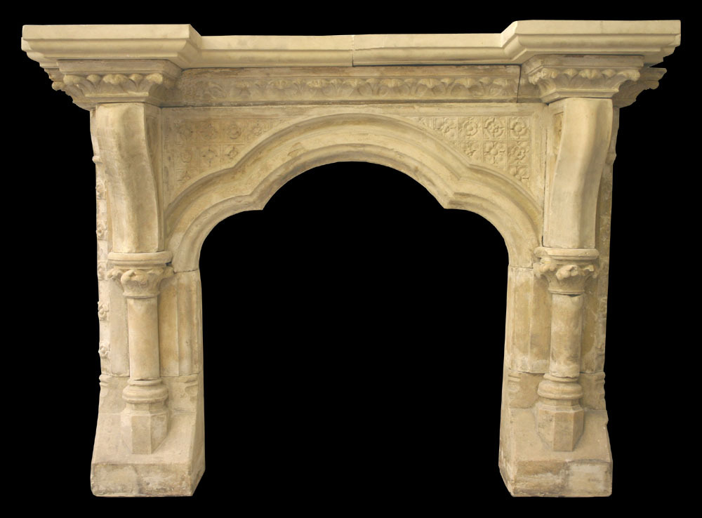 Antique Stone Fireplaces