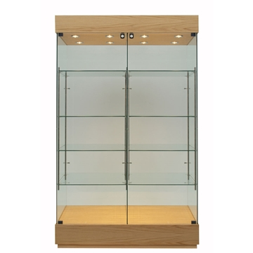 Glass display showcases