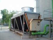 Hybrid Dry Cooler - alternative to conventional cooling tower