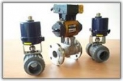 Actuated Process Ball Valves