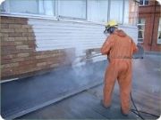 High Pressure Water Blasting Concrete Trimming