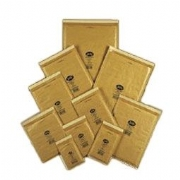 Bubble Lined Gold Jiffy Bags
