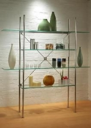 Timber shelving systems