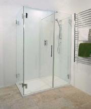 'The Pacific' Frameless Shower Enclosure in 10mm Glass