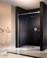 'The Berlin' Shower Partition with Slider Door in 8mm Glass