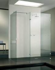 'The Coral' Frameless Shower Cubicle in 10mm Glass
