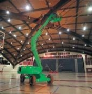 Electric Articulated Booms for Hire