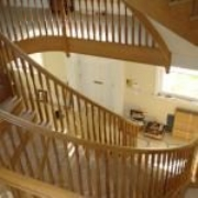 Bespoke Curved, Oak, Cut String Staircases Design, Fabrication & Installation