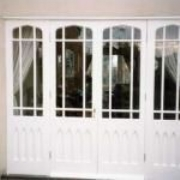 Bespoke Joinery, Individually Designed Gothic Style French Doors