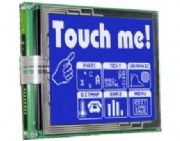 Graphics Display Control Panel with I/O