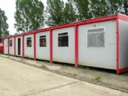 7 bay Modular Office Building