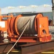 10 tonne Hydraulic Winch and Diesel Power Pack