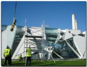 Architectural glass replacement