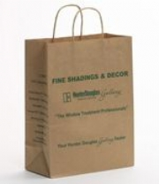 Twisted Paper Handle Carrier bags