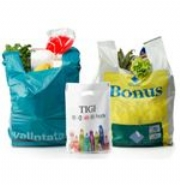 Vest Style Printed Plastic Carrier Bags