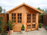 Angled Front Summerhouse