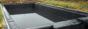 Box-Welded Liners for ornamental ponds