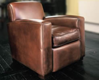 Deco Chair in Leather
