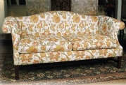 Camelback Two and a Half Seater Sofa in Fabric